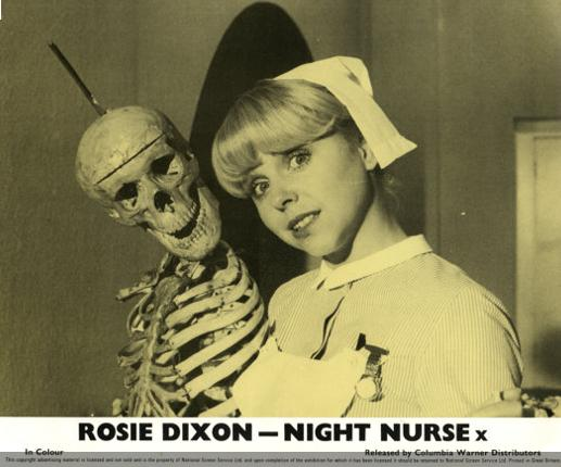 Rosie and Director Bones from DC Comics