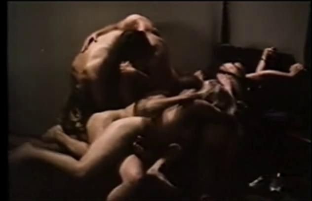 A mass of writhing bodies meant to represent an orgy.